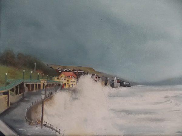 Stormy Lyme Regis